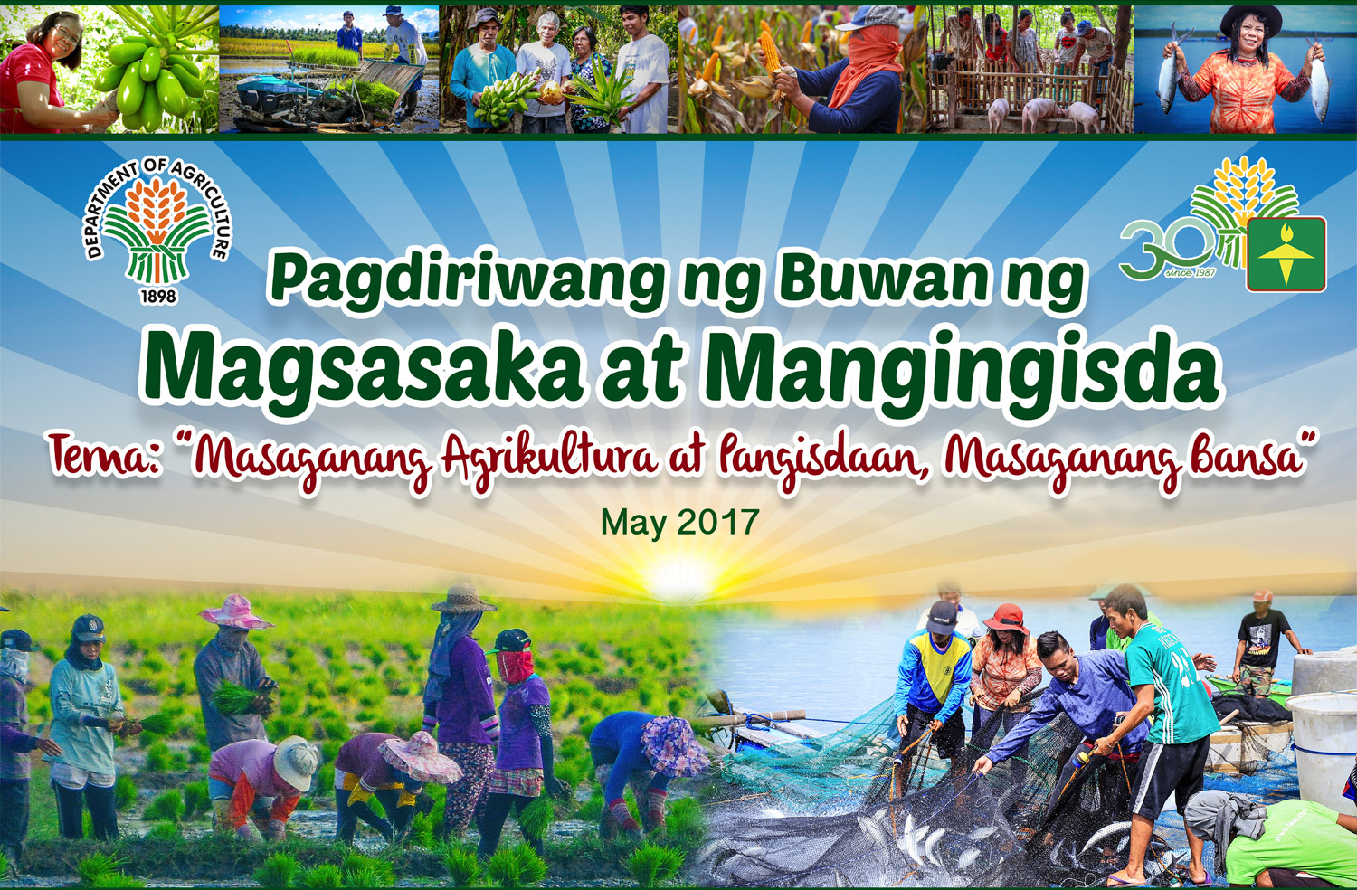 Farmers and Fishers Month 2017