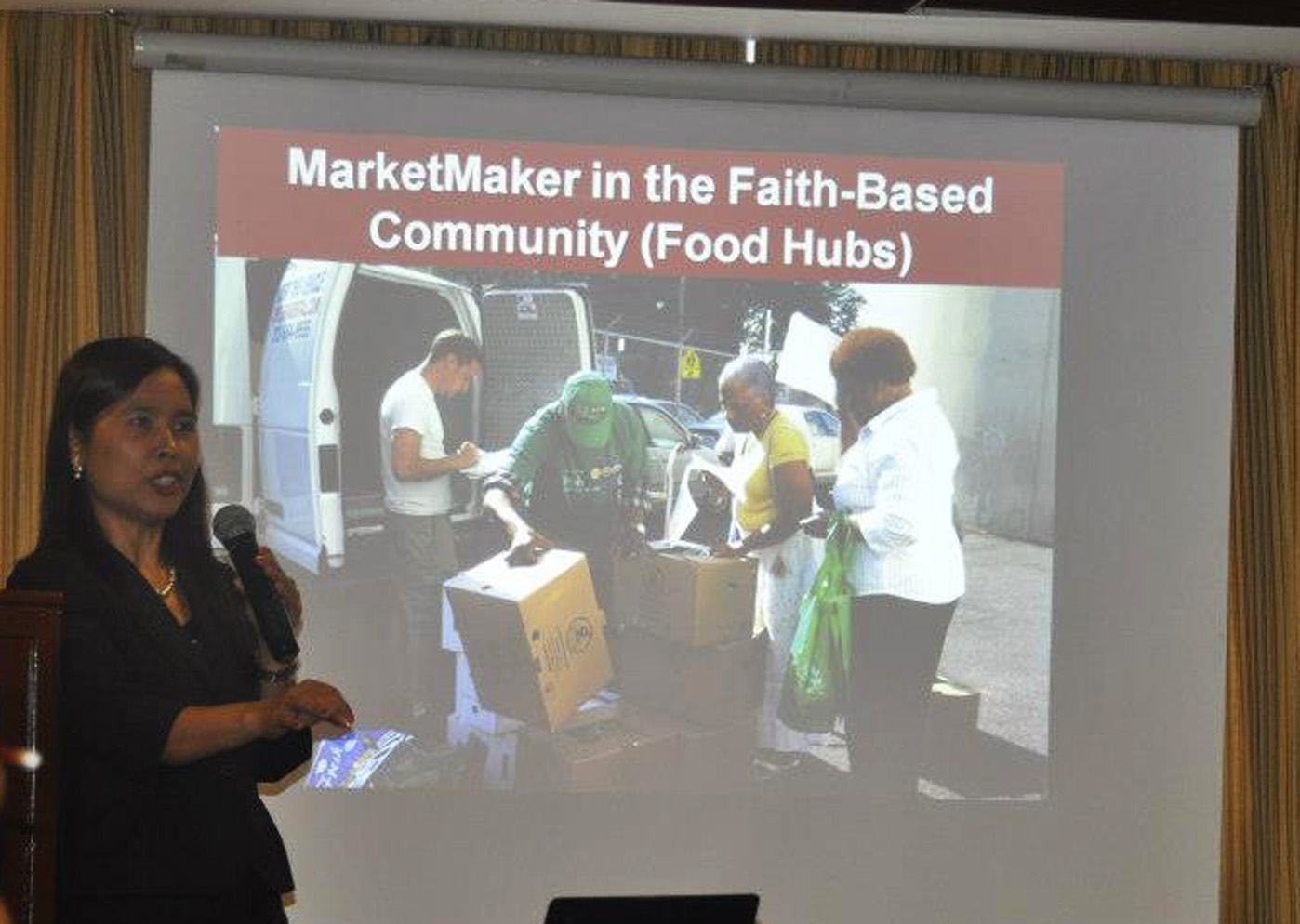 Dr. Khin Mar Cho presents the MarketMaker Program
