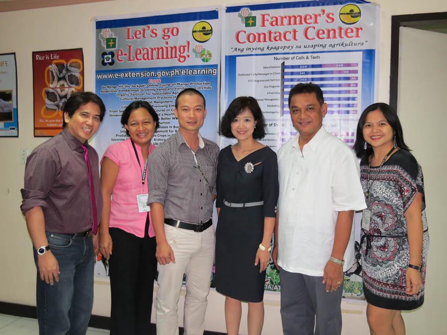 Vietnam's NAEC visits ATI for e-Extension